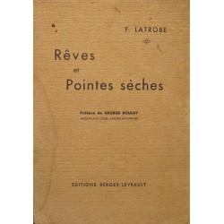 F. LATROBE peves et pointes sèches 1933 BERGER-LEVRAULT poesie RARE++