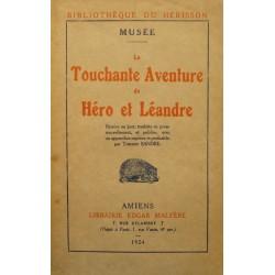 MUSÉE la touchante aventure de Héro et Léandre SANDRE SIGNÉ 1924 MALFERE RARE++