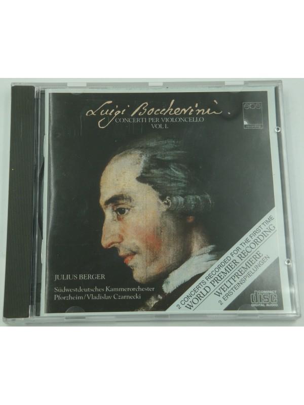 JULIUS BERGER/CZARNECKI concerti per violoncello 1 BOCCHERINI CD Ebs