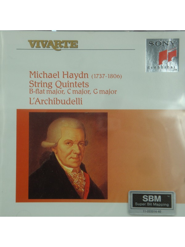 L'ARCHIBUDELLI string quintets HAYDN CD 1994 Sony