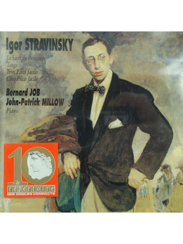 JOB/MILLOW sacre du printemps/tango STRAVINSKY CD 1991 Vogue - Piano