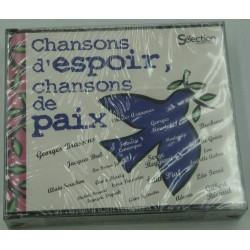 Chansons d'espoir, Chansons de paix - Aznavour/Brassens/Piaf 5CD's Box 2011