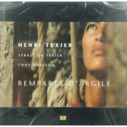 HENRI TEXIER remparts d'argile TONY RABESON CD 2000 Label bleu
