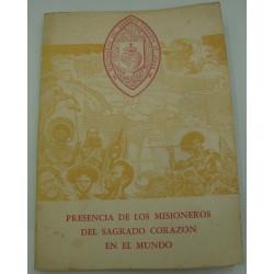 CELSO MEJIDO DIAZ presencia de los misioneros del sagrado corazon en el mundo 1960
