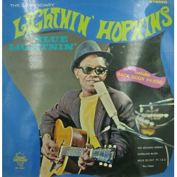 LIGHTNIN' HOPKINS blues lightnin' LP Esperance - back door friend