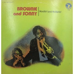 BROWNIE and SONNY hootin' and hollerin' LP 1973 Olympic - walk on