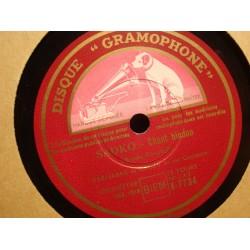 BARNABAS DE GECZY sadko - chant hindoue/valse triste 78T GROMOPHONE VG++