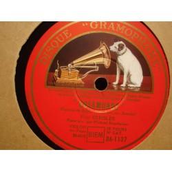 FRITZ KREISLER/RAUCHEISEN rosamunde/larghetto 78T GRAMOPHONE VG++