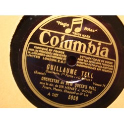 HENRY J. WOOD Guillaume Tell l'aurore/la tempete 78T COLUMBIA VG++