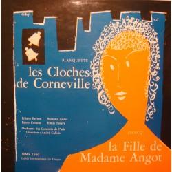 ANDRÉ GALLOIS/BERTON/AURET/CORAZZA cloches de corneville/madame angot LP VG+