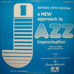 JAMEY AEBERSOLD a new approach to jazz improvisation vol1 LP 1979 VG++