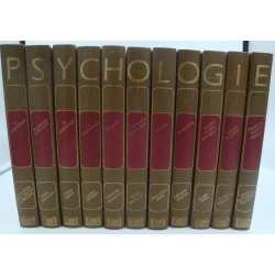 Collection La Psychologie Moderne - 11 Volumes complets 1977 CEPL