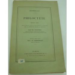 SOPHOCLE Philoctète - Tournier/Desrousseaux - Textes grec avec critique Ed. Hachette