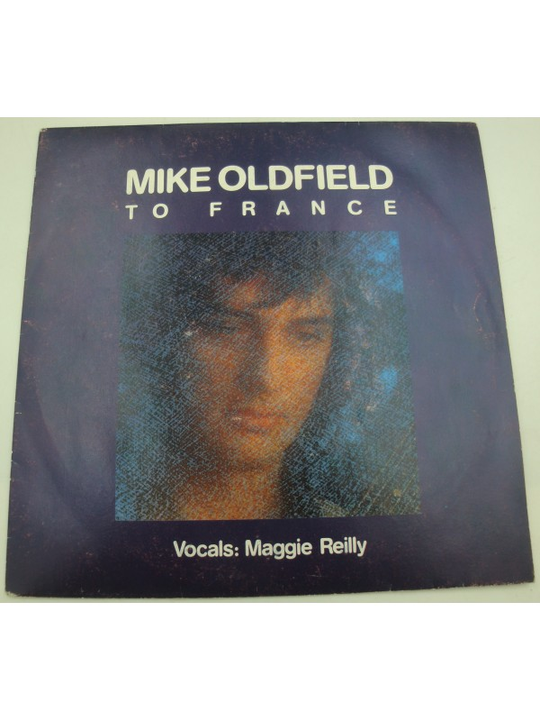 MIKE OLDFIELD to France/in the pool SP 1984 Virgin