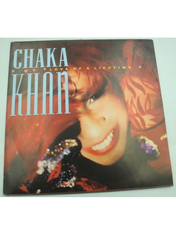 CHAKA KHAN love of a lifetime/Coltrane dreams SP Promo 1986 WB