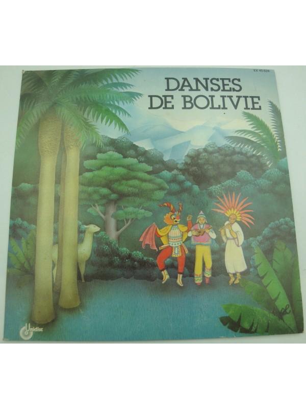 LOS GRINGOS danses de Bolivie EP 1979 Unidisc - Chilili/cebadillas/cullawada