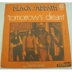 "BLACK SABBATH tomorrow's dream/laguna sunrise SP 7"" 1972 Vertigo"