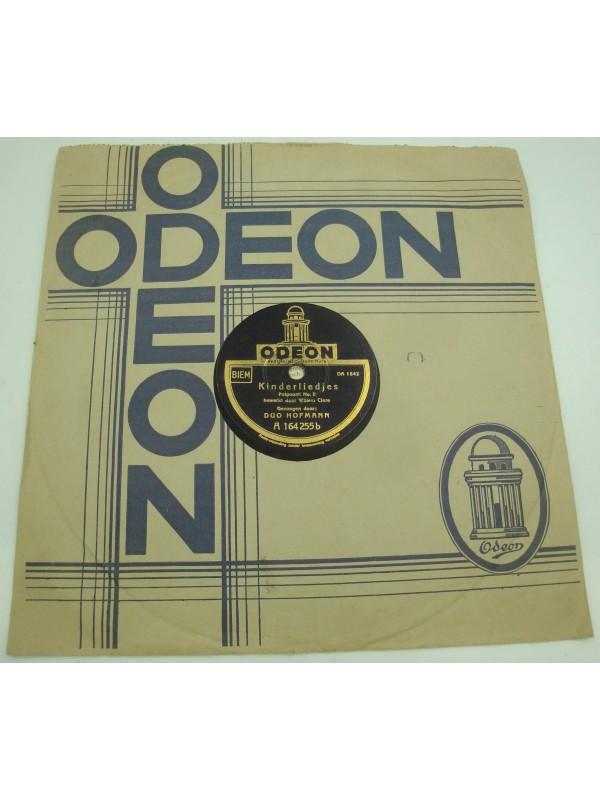 DUO HOFMANN potpourri van kinderliedjes 1 - 78T Odeon A164255