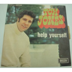 "TOM JONES help yourself/day by day SP 7"" 1968 Decca"