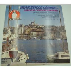 DARCELYS/VINCENT CANTAREL Marseille chante... LP 1985 CBS partie de pétanque