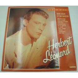 HERBERT LEONARD album d'or LP 1985 Celine Music - mon coeur et ma maison