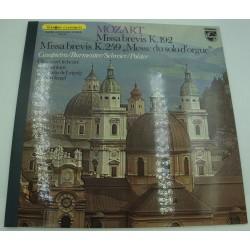 HERBERT KEGEL/LEIPZIG missa brevis - messe du solo d'orgue MOZART LP Philips