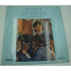 GEORGES SEBASTIAN la walkyrie/maitres chanteurs/crepuscule des dieux WAGNER LP