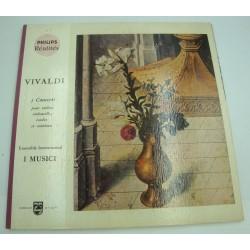 I MUSICI 5 concerti pr violon, violoncelle, cordes et continuo VIVALDI LP Philips