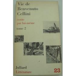 Vie de BENVENUTO CELLINI écrite par lui-même T2 - 1965 Julliard - sculpture