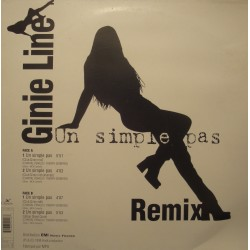 GINIE LINE un simple pas (4 versions) MAXI 1998 EMI VG++