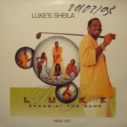 LUKE'S SHEILA changing the game MELVIN RILEY MAXI 1998 ISLAND VG++