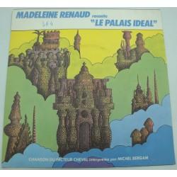 MADELEINE RENAUD le palais idéal/chanson du facteur cheval SP Promo Barclay