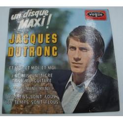 JACQUES DUTRONC et moi, et moi/j'ai mis un tigre dans ma guitare/mini EP 1966 Vogue