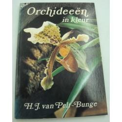 H.J. VAN PELT-BUNGE Orchideeën in kleur - kweken in kamer en kas ORCHIDÉE 1974