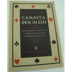 BUTSELAAR canasta drie in een - Spelregels van poker/samba
