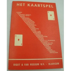 S. H. VAN GRONINGEN het kaartspel - bevattende alle kaartspelen voor 3 en meer personen
