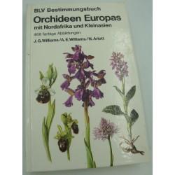 WILLIAMS/ARLOTT orchideen europas mit nordafrika und kleinasien 1979 BLV