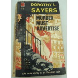 DOROTHY L. SAYERS murder must advertise 1962 New english library