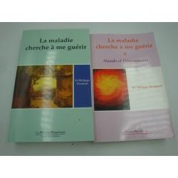 PHILIPPE DRANSART la maladie cherche à me guérir - 2 Tomes 2005 Mercure Dauphinois