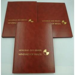 FRANCO/LEPREVOST/BIGARELLA minerais do Brasil - Minerals of Brazil - 3 vol. 1971