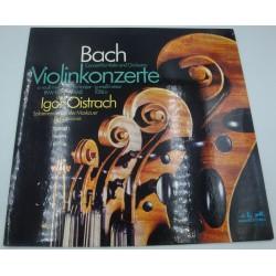 IGOR OISTRACH/MOSKAUER violinkonzerte BACH LP Melodia