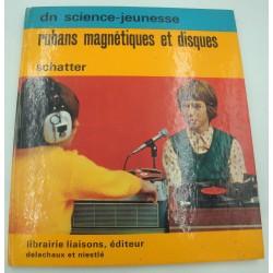 SCHATTER rubans magnétiques et disques 1973 Librairie Liaisons