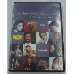 UNIVERSAL CLASSICS see how great they sound ! DVD sampler 2001