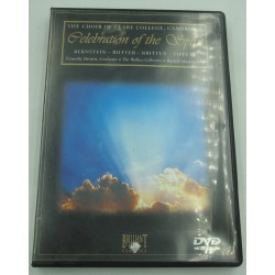 THE CHOIR OF CLARE COLLEGE/TIMOTHY BROWN celebration of the spirit DVD Brillant Classics
