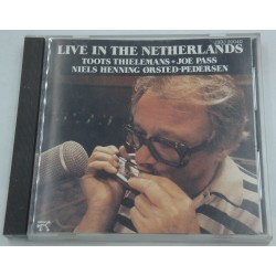 THIELEMANS/JOE PASS/ORSTED-PEDERSEN live in the Netherlands 1982 Pablo - Japan