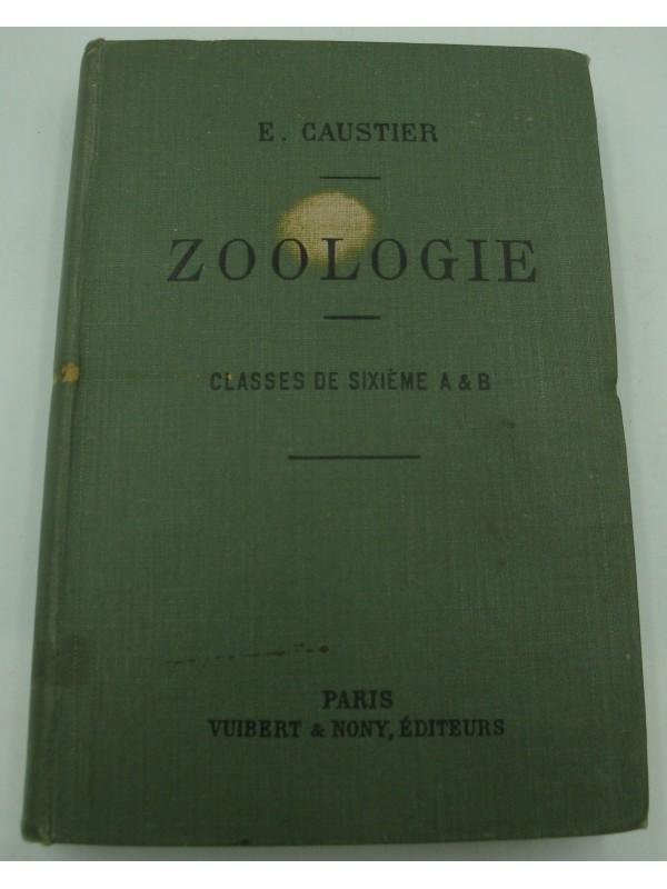 E. CAUSTIER zoologie - classes de sixième 1908 Vuibert