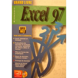 VONHOEGEN/KAMENZ grand livre Excel 97 MICRO APPLICATION 1997 informatique EX++