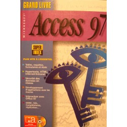 BAR/BAUDER grand livre access 97 MICRO-APPLICATION 1997 informatique EX++