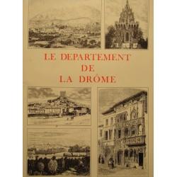 V.A. MALTE-BRUN departement de la drôme 1985 BASTION illustrations carte RARE++