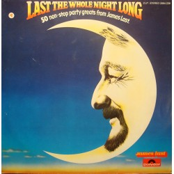 JAMES LAST last the whole night long 2LP'S 1979 POLYDOR stayin alive VG+